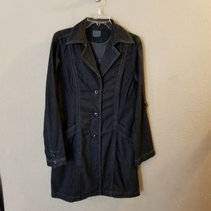 Converse one Star Blue Denim Jacket/Trench Coat